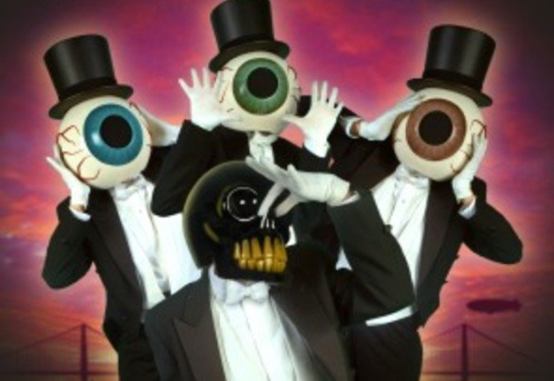 Американская авангардная группа The Residents в Праге