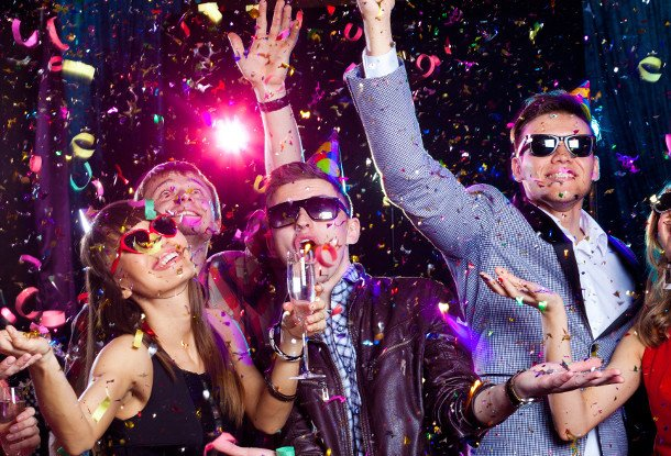 вечеринка новый год