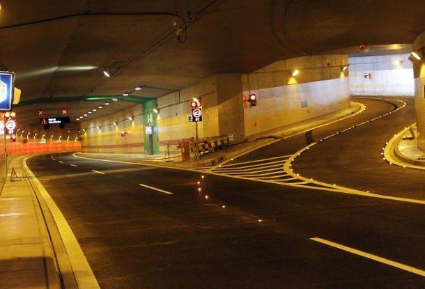 туннель бланка прага