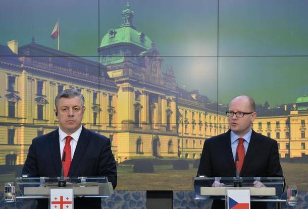 Чехия поддерживает рвение Грузии вступить вНАТО