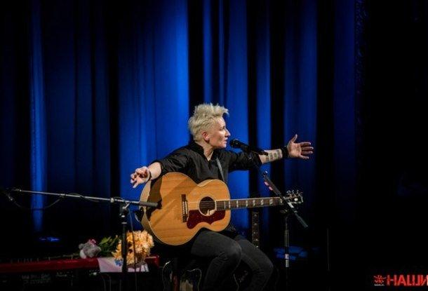 Диана Арбенина о концерте в Праге: «Мне здесь хорошо поется»