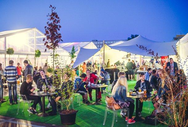 Большой пивной фестиваль на Летне в Праге
