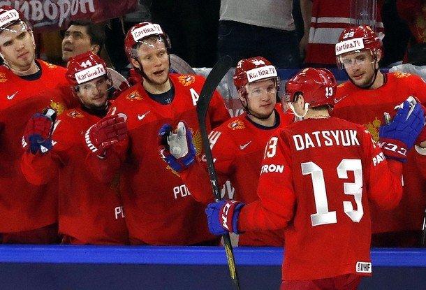 Сборная Беларуссии похоккею уступила сборной Чехии