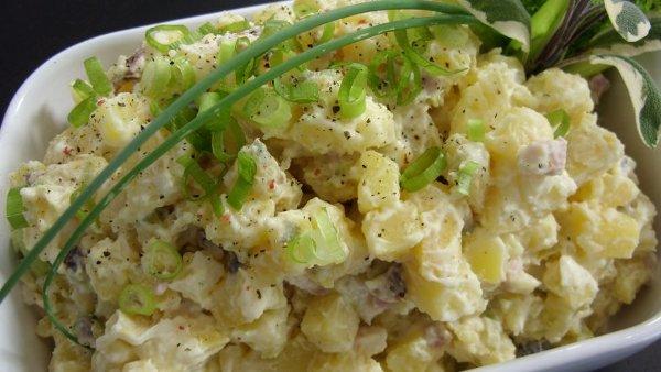 Салаты с картошкой с фото